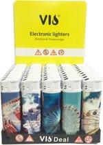 Aanstekers 50 stuks navulbaar klik aansteker - Vio deal lighters