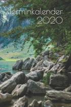 Terminkalender 2020: Terminplaner Jahresplaner Taschenkalender Wochenplaner Alltagsplaner Personal Organizer
