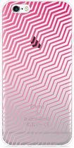 iPhone 6 Plus/6S Plus Hoesje Wavy Pink