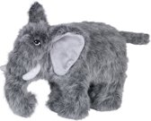 Nobby knuffel olifant voor de hond 30cm pluche met piep