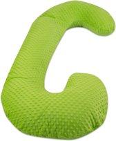 Voedingskussen / Zwangerschapskussens | C-vorm 240 cm | Groen