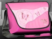 """15"""" Pink Butterfly Flap"""