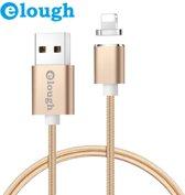 Elough ® E04 Magnetische Lightning oplaadkabel - Magnetisch oplader 2.4A Fast Charge Lightning Snellader en Datakabel -