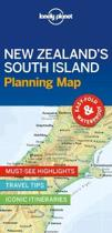 Lonely Planet New Zealand's South Island Planning Map