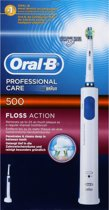 Comparer ORAL B PC500 FLOSS ACTION BLANC