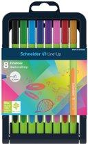 fineliner Schneider Line-Up 0,4mm 8 kleuren