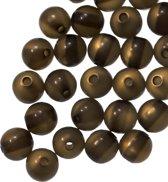 Resin Kralen (6 mm) Dark Moss Shine (50 Stuks)