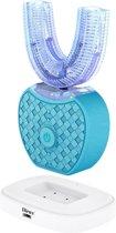 Dieux® - 360 graden elektrische tandenborstel -Tanden Bleeker -groen