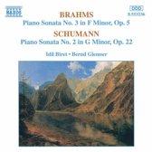 Brahms/Schumann:Piano Son. 3/2