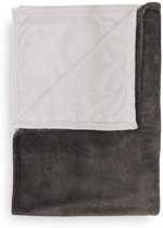 Heckett & Lane Ombre - Plaid - 150x220 cm - Taupe grey