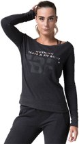 Body & Fit Sportswear Nova Sweat Round Neck-Antra Melange - Sportshirt - XL