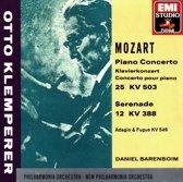 Mozart: Piano Concerto 25 / Serenade 12