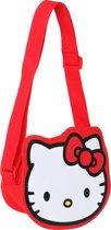 Hello Kitty Meisjesschoudertas - Rood - Maat One size