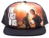 The Last Of Us -snap back trucker cap