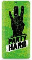Nokia 6 Hoesje Party Hard 3.0