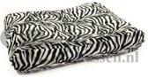 Hondenkussen Bonfire Zebra zwart/wit 100x75x15 cm
