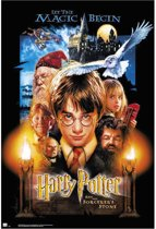 Harry Potter and the Sorcerer's Stone-film-deel 1-Harry Potter en de Steen der Wijzen-poster-61x91.5cm.