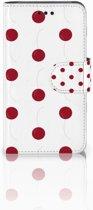 Samsung Galaxy Core i8260 Bookcase hoesje Design Cherries
