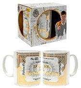 Harry Potter Zweinstein mok heat - goud - limited edition