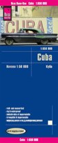 Reise Know-How Landkarte Cuba 1 : 650.000 mit Havanna 1 : 50.000