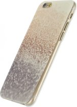 Xccess TPU Case Apple iPhone 6/6S Silver Glitter
