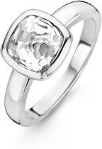 TI SENTO Milano Ring 12063ZI - maat 16 mm (50) - Zilver witgoudverguld