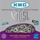 KMC X10SL - Fietsketting - 10 Speed - 114 Schakels - Zilver