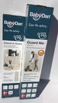 BabyDan Guard-me XL Combi (65-113.5cm) Creme opvouw hekje.