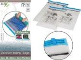 Bo-Trail - Vacuümzakken - Travelbags - 2x M - 1x L - 3 Stuks
