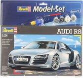 Revell Auto Set Audi R8 - Bouwpakket - 1:24