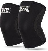 Reeva Knee sleeves - Geschikt voor Fitness en CrossFit - 5mm -  verkocht per paar - Large