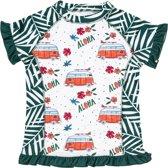 Ducksday UV shirt korte mouwen meisje Monti - 8 jaar