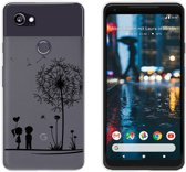 MP Case TPU case Love print voor Google Pixel 2 XL -Achterkant / backcover