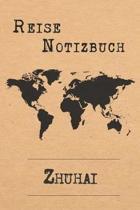 Reise Notizbuch Zhuhai