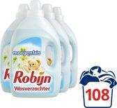 Robijn Morgenfris wasverzachter - 108 wasbeurten - 4 stuks