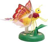 Lily Papillon interactieve magische vlinder - geel