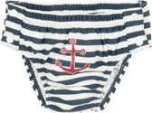 Playshoes zwemluier marine wit anker