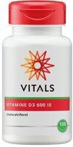 Vitals Vitamine D3 600 IE 100 capsules