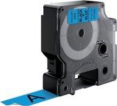 DYMO S0720860 labelprinter-tape Zwart op blauw