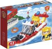 BanBao Brandweer Brandweerreddingsboot - 7119