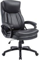 Clp XL Platon - Bureaustoel - Kunstleer - Zwart