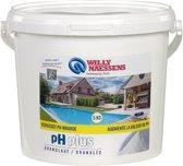 Willy Naessens Swimming Pools pH plus granulaat 5 kg - in poedervorm