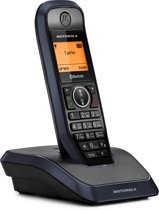 Motorola S2201 Single Set - NL - DECT Telefoon - Bluetooth - Zwart