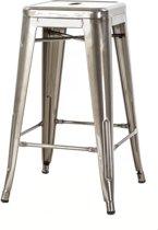 Café kruk middel | industrieel metaal