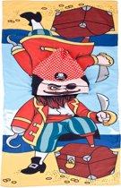 Strandponcho met Capuchon - Piraat