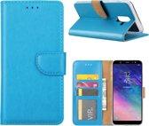 Xssive Hoesje voor Samsung Galaxy J8 2018 - Book Case - Turquoise