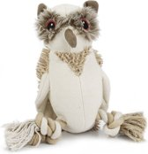 Beeztees Nuddles Uil - Hondenspeelgoed - Textiel - 26 cm