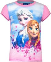 Frozen t-shirt roze voor meisjes 104