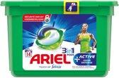Ariel Active Odour Defense - Kwartaalbox 6x14 Wasbeurten - Wasmiddelcapsules