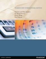 Statistics and Data Analysis for Social Science: Pearson  International Edition